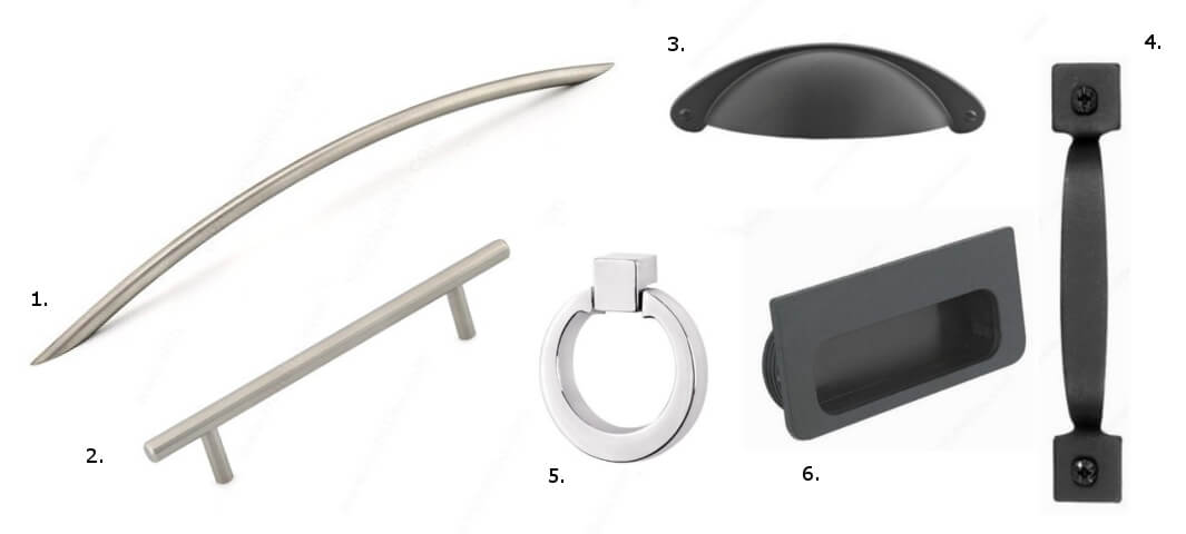 kitchen_cabinet_drawer_pull_fixture_types