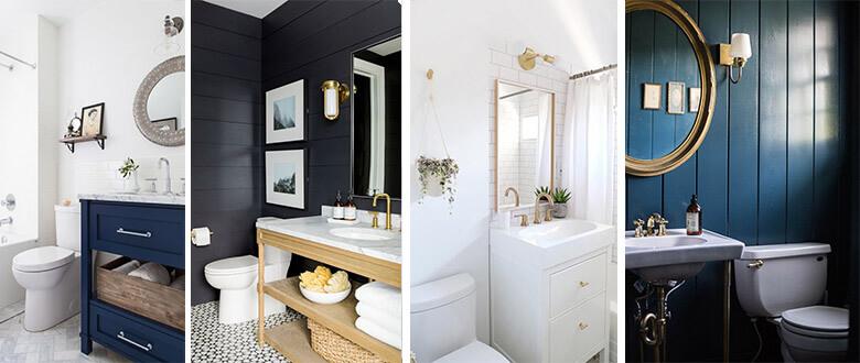 Bathroom colour palette