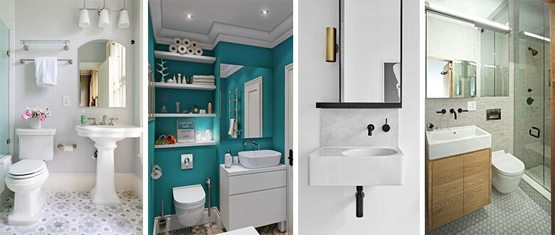 pedestal sink floating toilet small vanity