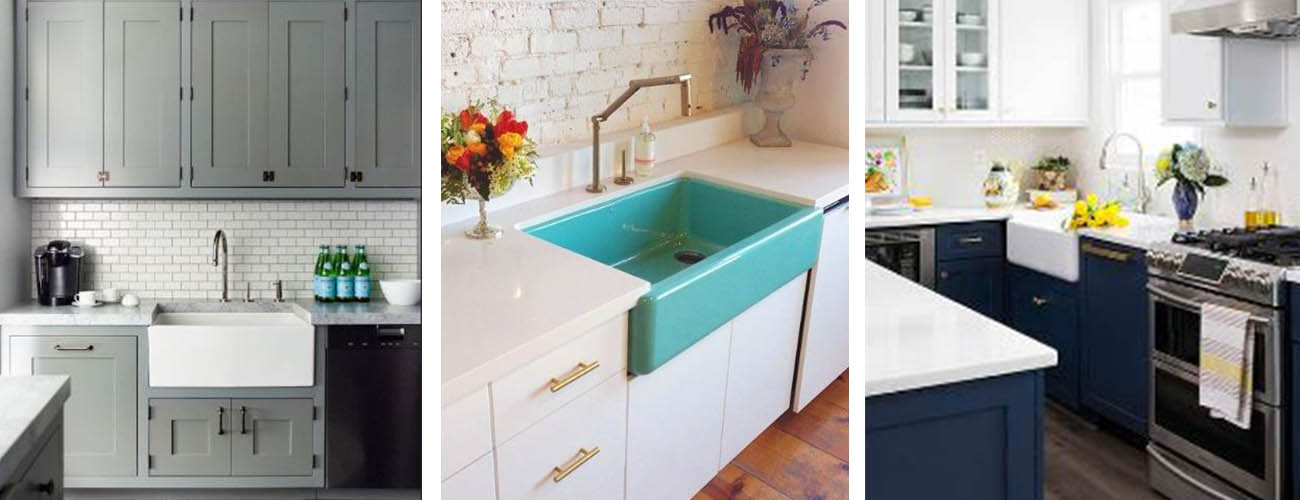 grey cabinets_two tone_color sink
